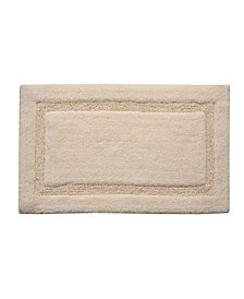 "Saffron Fabs Regency 34"" x 21"" Non-Skid Cotton Bath Rug"
