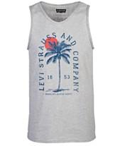 10c4391e2 Levi's® Men's Palm Tree Logo Tank