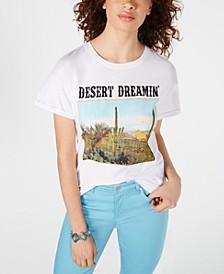 Juniors' Cotton Desert Dreamin' Graphic-Print T-Shirt
