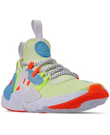 Nike Boys' Huarache E.D.G.E. Premium TXT Casual Sneakers from Finish Line