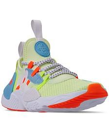 Nike Boys' Huarache E.D.G.E. Premium TXT Casual Sneakers from Finish Line