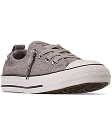 Women's Chuck Taylor Shoreline Slip Casual Sneakers from Finish Line