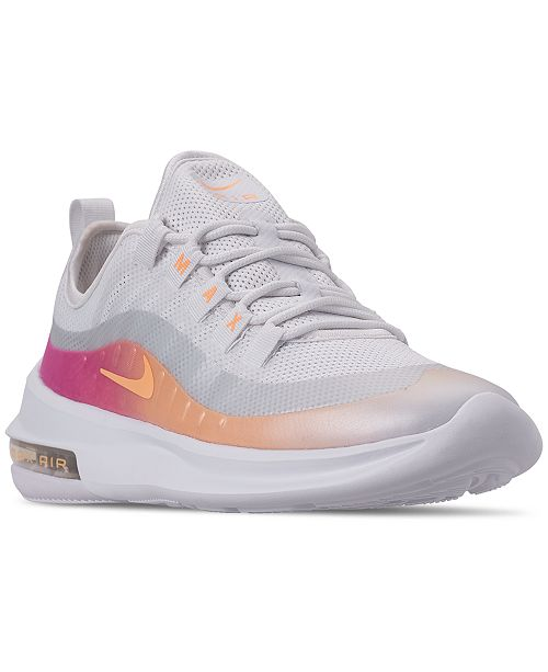 5881d5efd6 Nike Women's Air Max Axis Premium Casual Sneakers from Finish Line ...