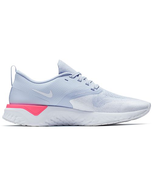 5f11a21b2a23 ... Nike Women s Odyssey React Flyknit 2 Running Sneakers from Finish ...