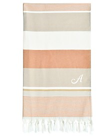 Linum Home Personalized Summer Loving Pestemal Beach Towel Collection