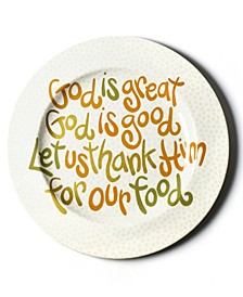 by Laura Johnson God Is Great Platter