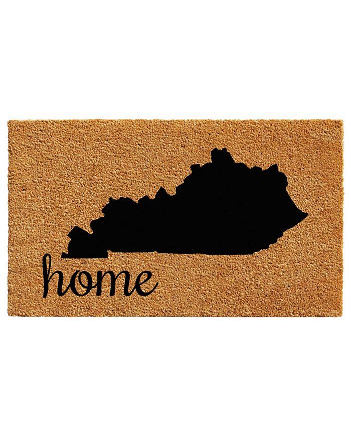 """Home & More - Kentucky 18"""" x 30"""" Coir/Vinyl Doormat"""