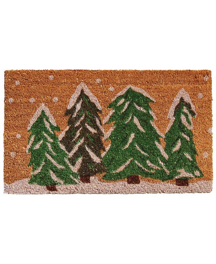 """Home & More - Winter Wonderland 17"""" x 29"""" Coir/Vinyl Doormat"""