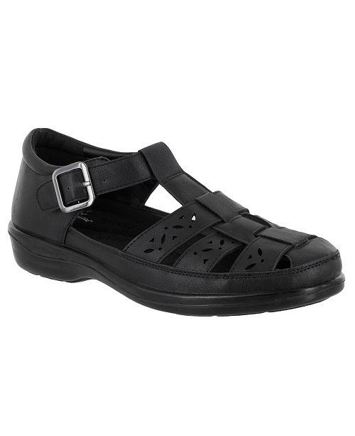 Easy Street Dorothy T-strap Comfort Sandals