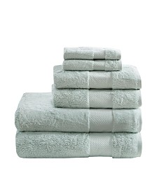 Madison Park Signature 100% Turkish Cotton 6-Pc. Towel Set