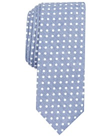 Original Penguin Men's Valerian Dot Skinny Tie