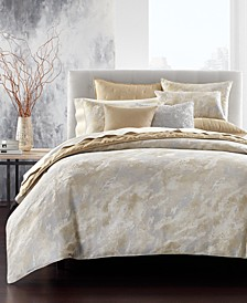Metallic Stone King Duvet Cover, Created for Macy's