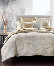 Hotel Collection Metallic Stone Comforters, Created for Macy's