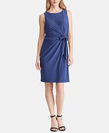 American Living Tie-Front Jersey Dress