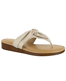 Tuscany by Easy Street Maren Thong Sandals