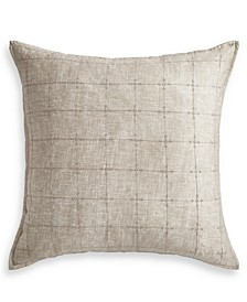 Hayden Gold Cotton European Sham, Created for Macy's