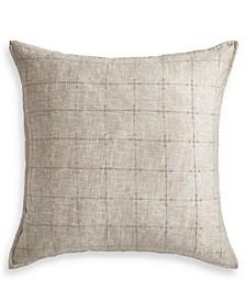 Hayden Gold Cotton European Sham, Created for Macy's