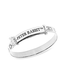 Beatrix Potter Sterling Silver Peter Rabbit Expander Bangle Bracelet