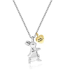 Beatrix Potter Sterling Silver Two-Tone Pendant Necklace