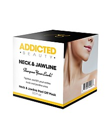 Addicted Beauty Neck And Jawline Peel Off Mask