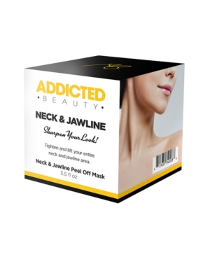 Image of Addicted Beauty Neck And Jawline Peel Off Mask