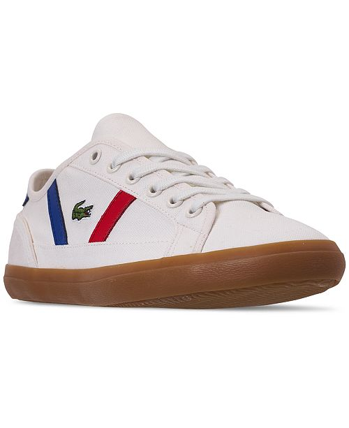 c03c35f53f2 Lacoste Women s Straightset Strap Casual Sneakers from Finish Line ...