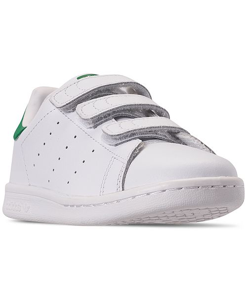 157f6fb449a3b ... adidas Little Boys  Originals Stan Smith Casual Sneakers from Finish ...