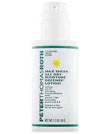 Peter Thomas Roth Max Sheer All Day Moisture Defense Lotion SPF 30, 1 oz