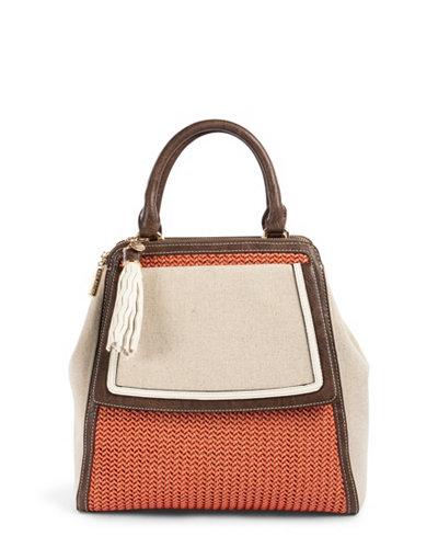 Celine Dion Collection Partita Handle Bag Canvas