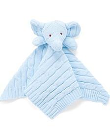 Knit Elephant Security Blanket