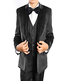 Classic Fit 2 Button Vested Suits for Boys