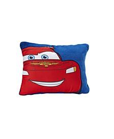 Cars Lightening McQueen Fleece Toddler Pillow