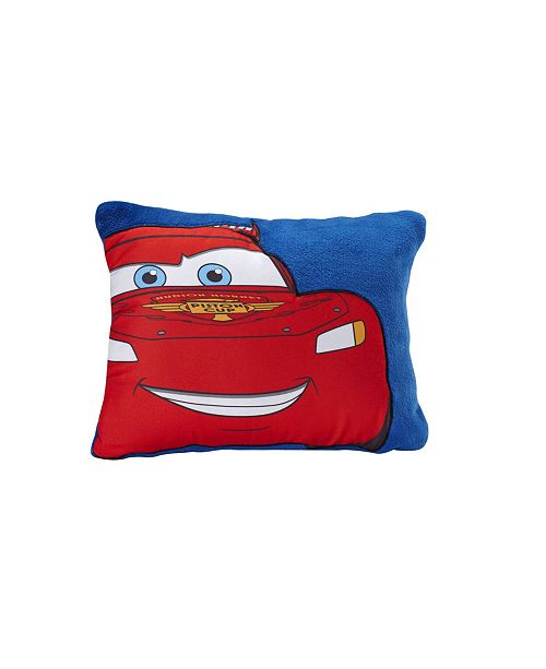 Disney Cars Lightening McQueen Fleece Toddler Pillow
