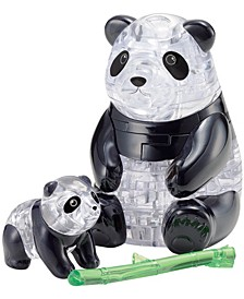 3D Crystal Puzzle-Panda and Baby - 50 Pcs