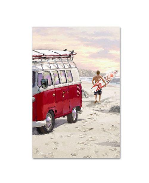 "Trademark Global The Macneil Studio 'Camper Van' Canvas Art - 19"" x 12"" x 2"""