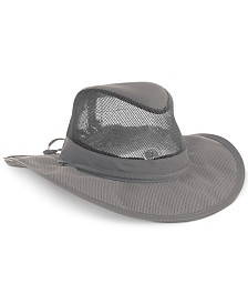 Dorfman Pacific Supplex Mesh Safari Hat
