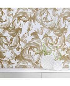 Tempaper CosmoLiving L'Amour Self-Adhesive Wallpaper