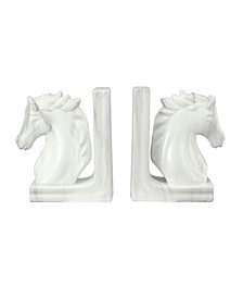 "7.5"" Bookends, Set of 2"