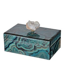 Bethany Marbled Box, Medium