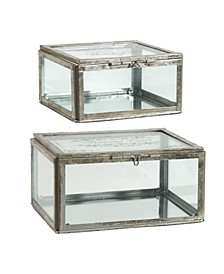 Jewelry Boxes, Set of 2
