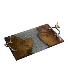Alvada Teak Wood Tray