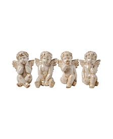 Cherub Sitting Angels, Set of 4