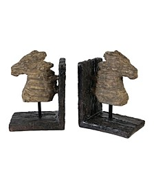 Horse Bookends, Set of 2
