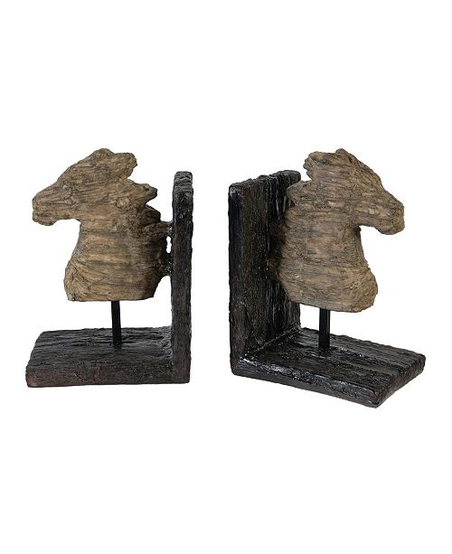 AB Home Horse Bookends, Set of 2