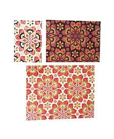 Georgiana Notebook, Kaleidoscope, Set of 3