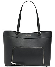 Calvin Klein Louise Leather Tote