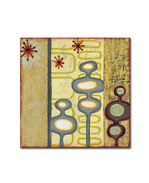 "Trademark Global Rachel Paxton 'Sterling Cooper 4' Canvas Art - 14"" x 14"" x 2"""