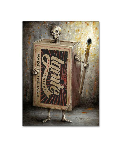 "Trademark Global Jason Limon 'Ignite the Dark' Canvas Art - 24"" x 18"" x 2"""