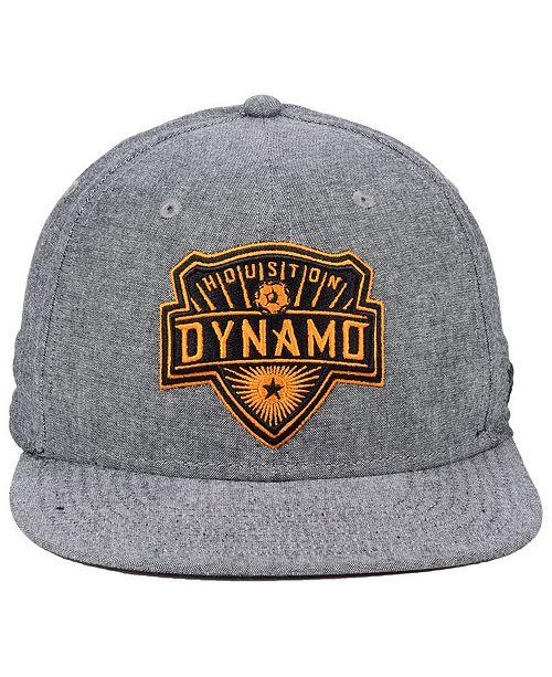 f0b09947351b9 ... Lids Authentic MLS Headwear Houston Dynamo Chambray Snapback Cap ...