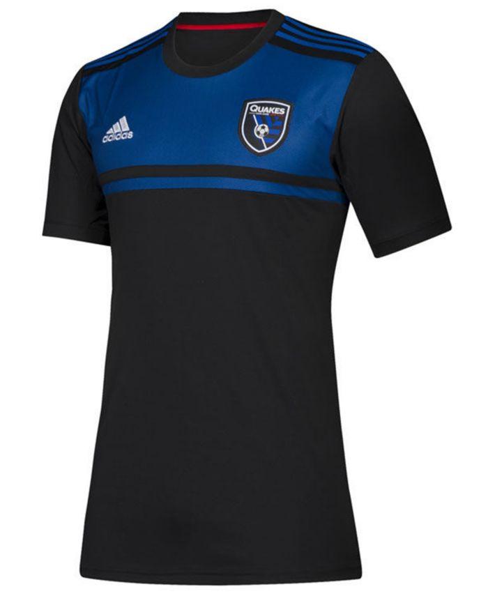 Adidas Men's San Jose Earthquakes Primary Replica Jersey & Reviews - Sports Fan Shop By Lids - Men - Macy's